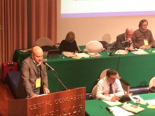L'intervento di Benoît Girod al congresso di Chianciano Terme