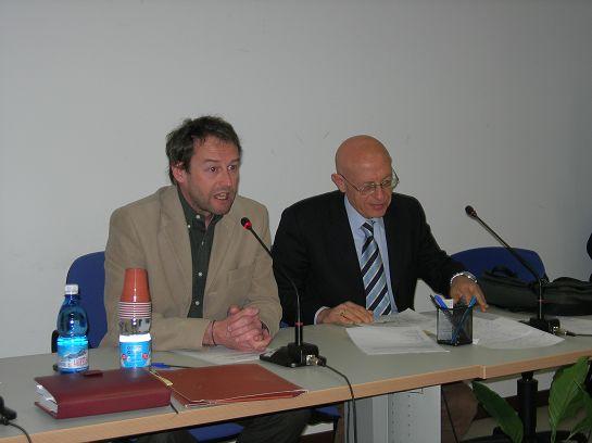 Giorgio Macchiavello e Paolo Serventi Longhi