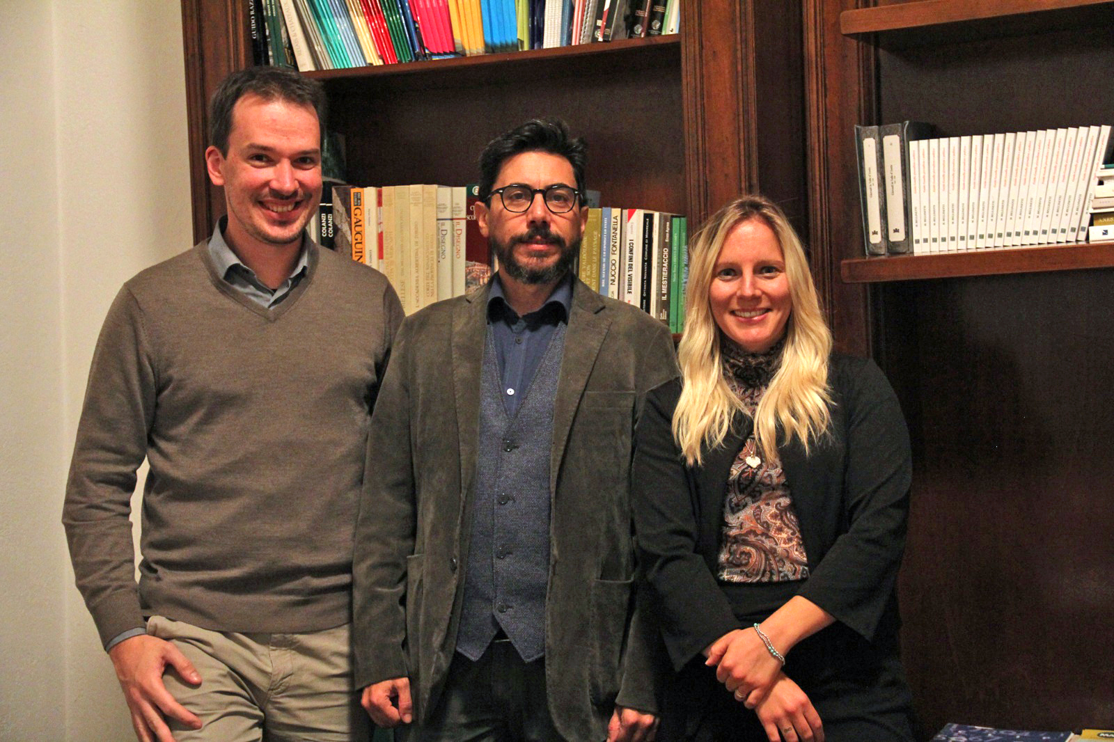 Alessandro Mano, Daniele Mammoliti e Jessica Cavallero