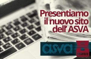 Presentazione del nuovo sito dell'Asva