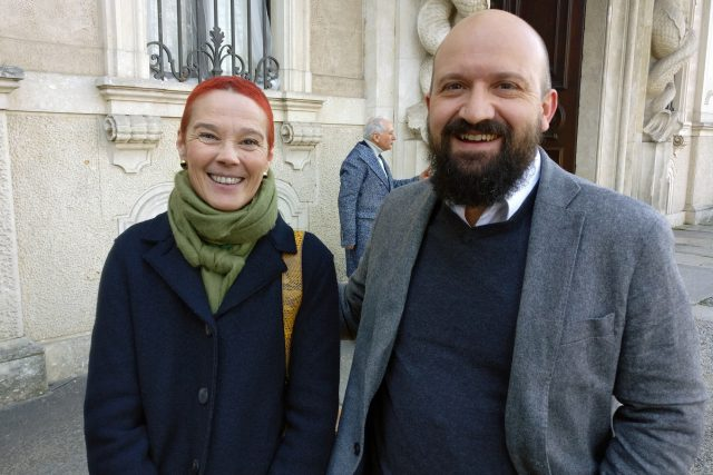 Marina Macelloni e Benoît Girod