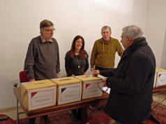 Elezioni dell'Inpgi nella sede dell'Asva, ad Aosta