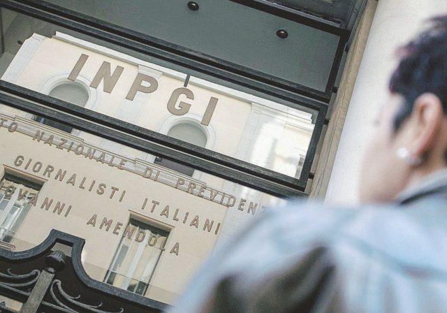 La sede dell'Inpgi a Roma
