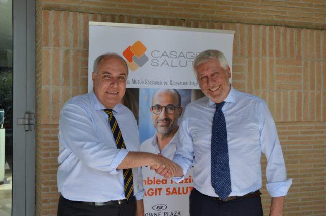 Gianfranco Giuliani e Daniele Cerrato